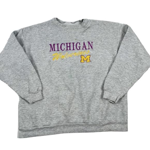 VTG 90s University of Michigan Sweatshirt